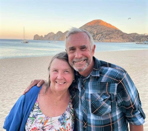 Us in Cabo - 50 years
